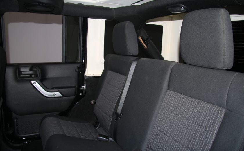 2011 Jeep Wrangler Sahara 2 TOITS #18