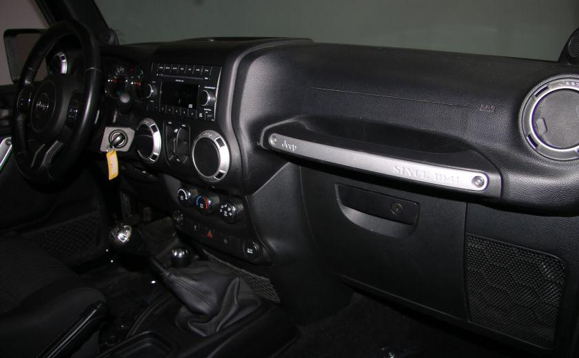 2011 Jeep Wrangler Sahara 2 TOITS #21