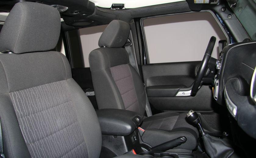 2011 Jeep Wrangler Sahara 2 TOITS #23