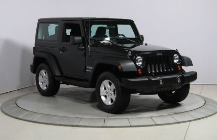 2013 Jeep Wrangler Sport 4WD 2TOITS MAGS #0