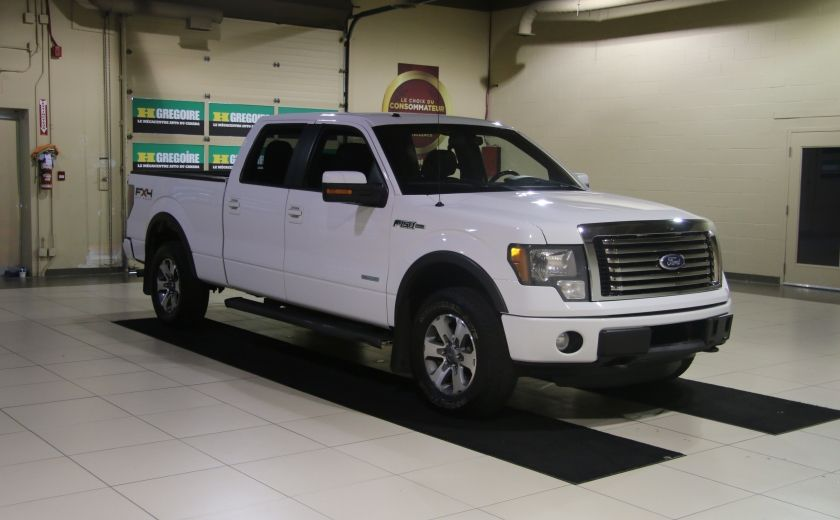 2011 Ford F150 FX4 4WD AUTO A/C MAGS BLUETOOTH #0