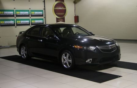 2012 Acura TSX w/Premium Pkg AUTO CUIR TOIT MAGS BLUETOOTH in Sherbrooke