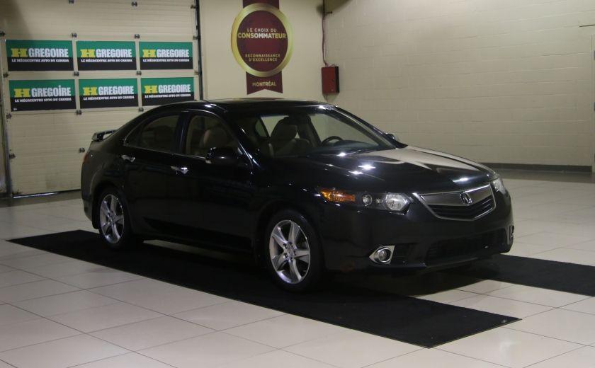 2012 Acura TSX w/Premium Pkg AUTO CUIR TOIT MAGS BLUETOOTH #0