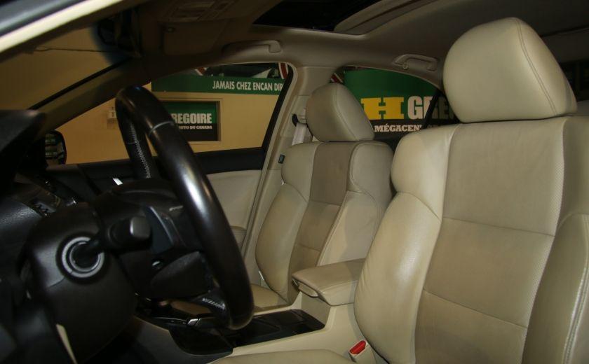 2012 Acura TSX w/Premium Pkg AUTO CUIR TOIT MAGS BLUETOOTH #9