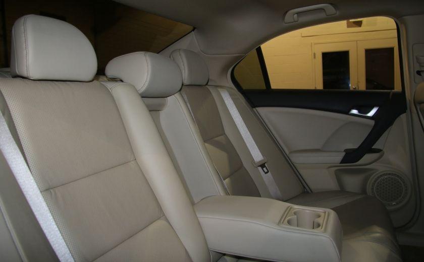 2012 Acura TSX w/Premium Pkg AUTO CUIR TOIT MAGS BLUETOOTH #22