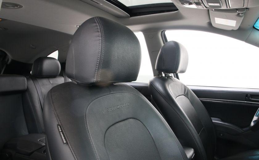 2012 Hyundai Veracruz GLS AWD CUIR TOIT 7 PASSAGERS #24