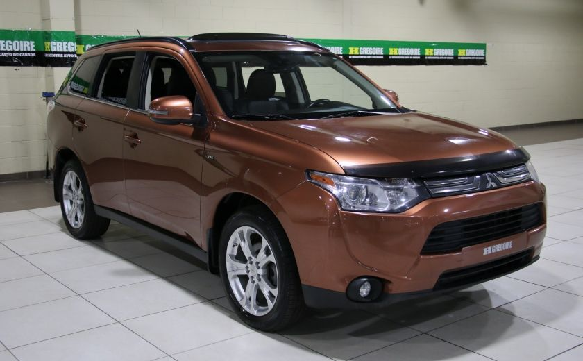 2014 Mitsubishi Outlander GT AWD AUTO A/C CUIR TOIT MAGS #0