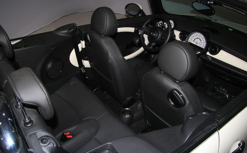 2013 Mini Cooper AUTO A/C CUIR TOIT MOU MAGS #27