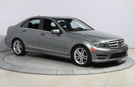 2012 Mercedes Benz C250 4MATIC AUTO A/C CUIR TOIT MAGS BLUETOOTH in Saint-Hyacinthe
