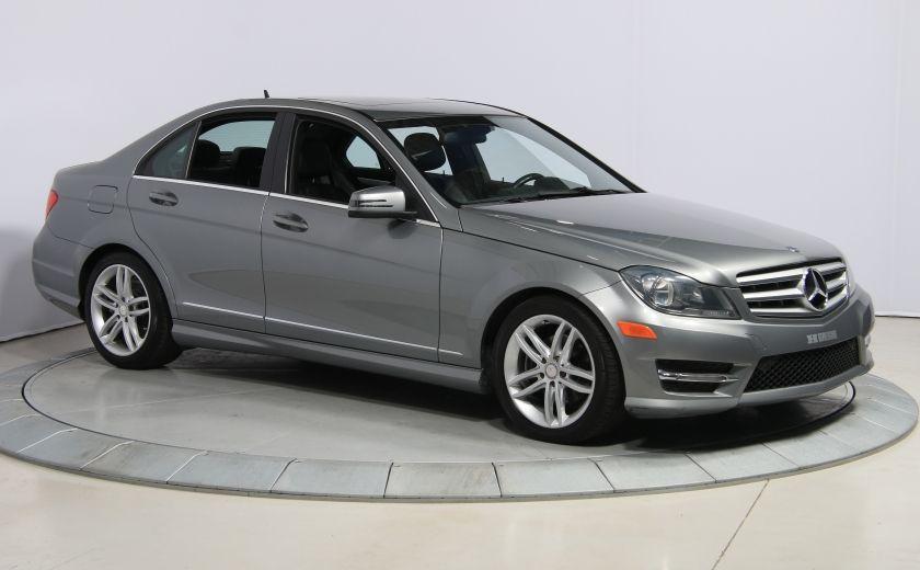2012 Mercedes Benz C250 4MATIC AUTO A/C CUIR TOIT MAGS BLUETOOTH #0
