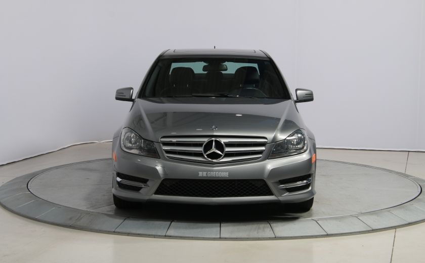2012 Mercedes Benz C250 4MATIC AUTO A/C CUIR TOIT MAGS BLUETOOTH #1