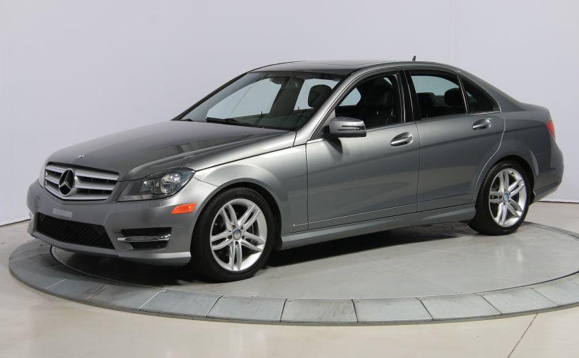 2012 Mercedes Benz C250 4MATIC AUTO A/C CUIR TOIT MAGS BLUETOOTH #2
