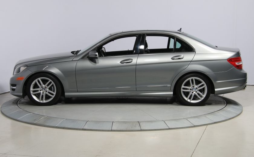 2012 Mercedes Benz C250 4MATIC AUTO A/C CUIR TOIT MAGS BLUETOOTH #3