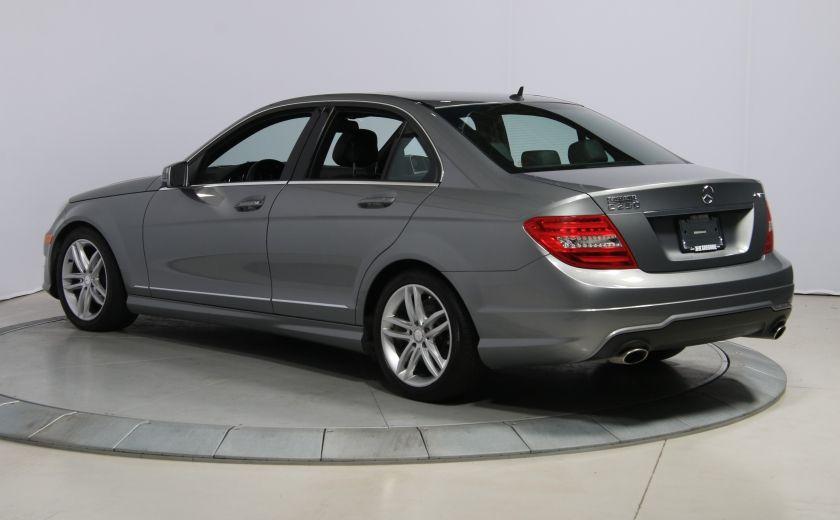 2012 Mercedes Benz C250 4MATIC AUTO A/C CUIR TOIT MAGS BLUETOOTH #4