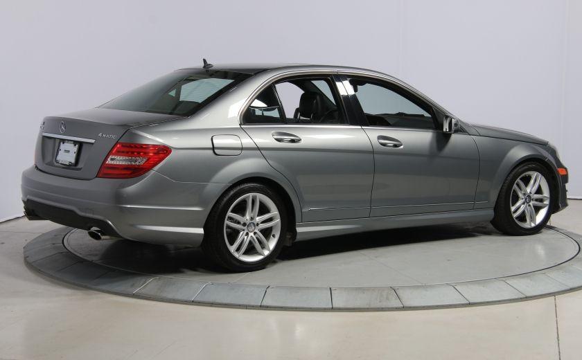 2012 Mercedes Benz C250 4MATIC AUTO A/C CUIR TOIT MAGS BLUETOOTH #6