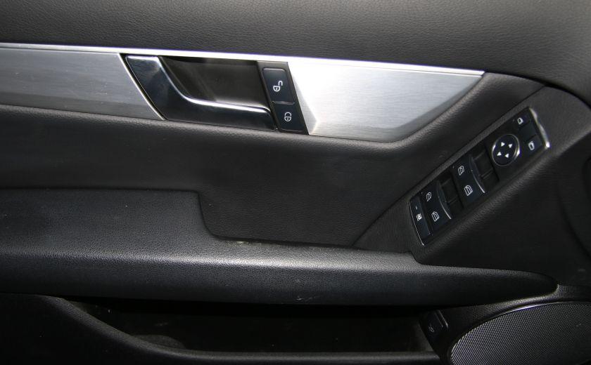 2012 Mercedes Benz C250 4MATIC AUTO A/C CUIR TOIT MAGS BLUETOOTH #10