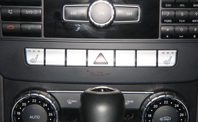 2012 Mercedes Benz C250 4MATIC AUTO A/C CUIR TOIT MAGS BLUETOOTH #18