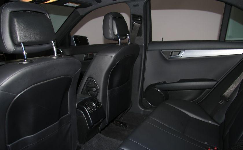 2012 Mercedes Benz C250 4MATIC AUTO A/C CUIR TOIT MAGS BLUETOOTH #19