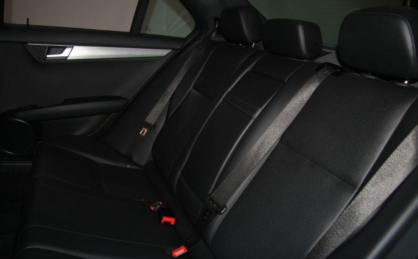 2012 Mercedes Benz C250 4MATIC AUTO A/C CUIR TOIT MAGS BLUETOOTH #20