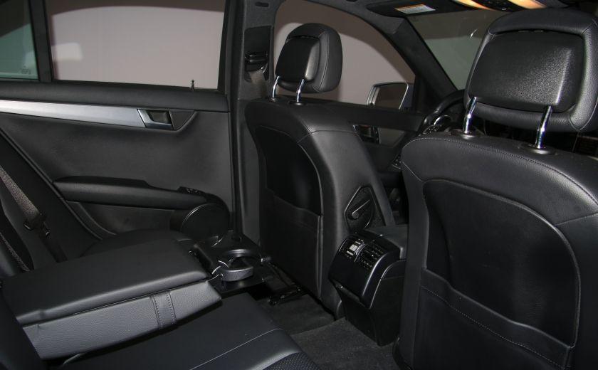 2012 Mercedes Benz C250 4MATIC AUTO A/C CUIR TOIT MAGS BLUETOOTH #21