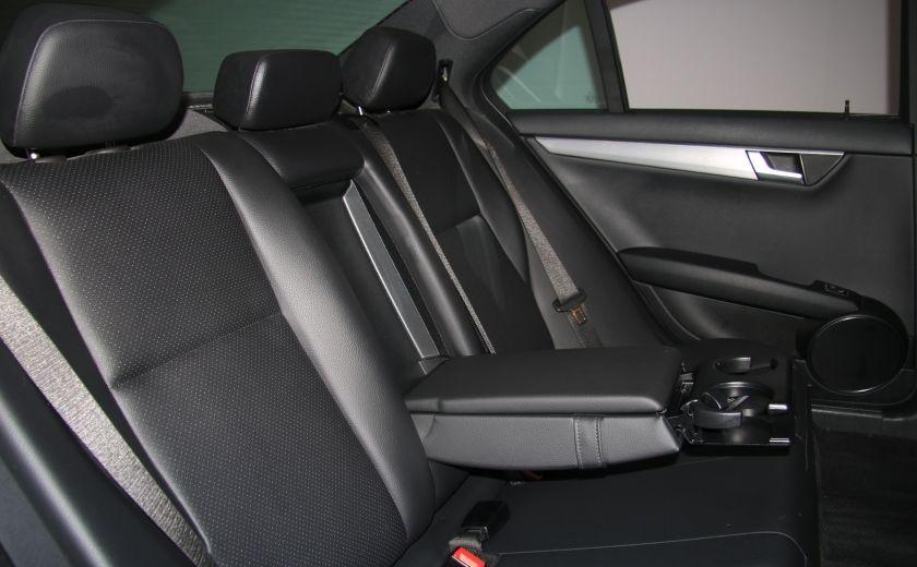 2012 Mercedes Benz C250 4MATIC AUTO A/C CUIR TOIT MAGS BLUETOOTH #22
