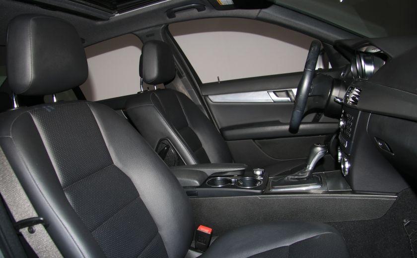 2012 Mercedes Benz C250 4MATIC AUTO A/C CUIR TOIT MAGS BLUETOOTH #25