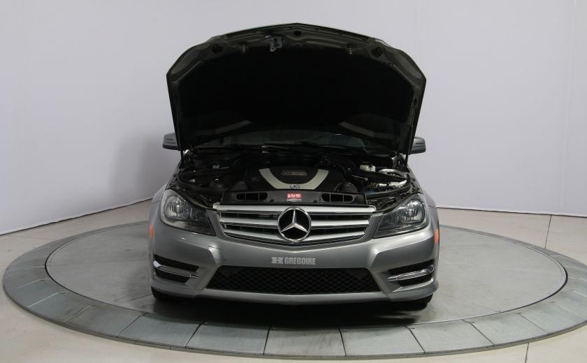 2012 Mercedes Benz C250 4MATIC AUTO A/C CUIR TOIT MAGS BLUETOOTH #27