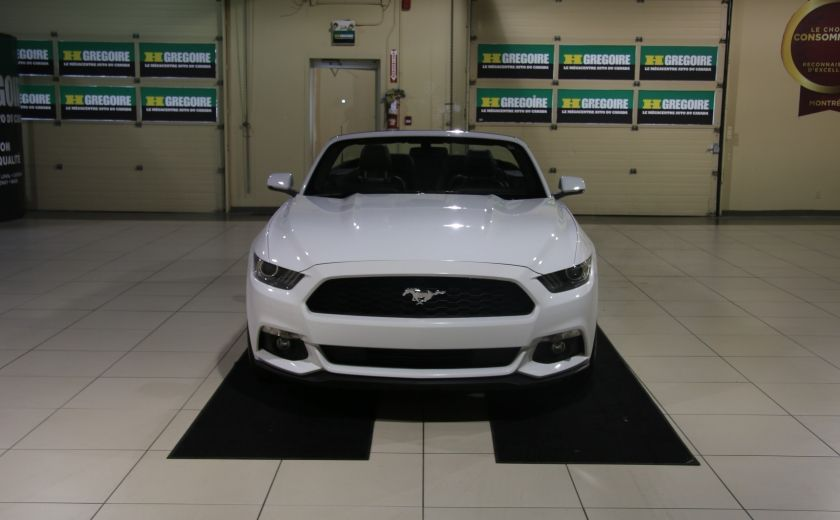 2015 Ford Mustang EcoBoost Premium AUTO A/C CUIR CONVERTIBLE MAGS #1