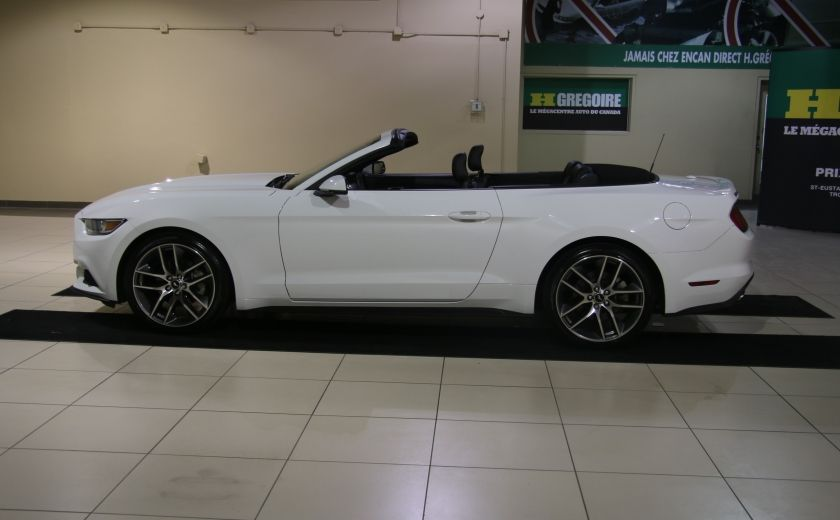 2015 Ford Mustang EcoBoost Premium AUTO A/C CUIR CONVERTIBLE MAGS #3