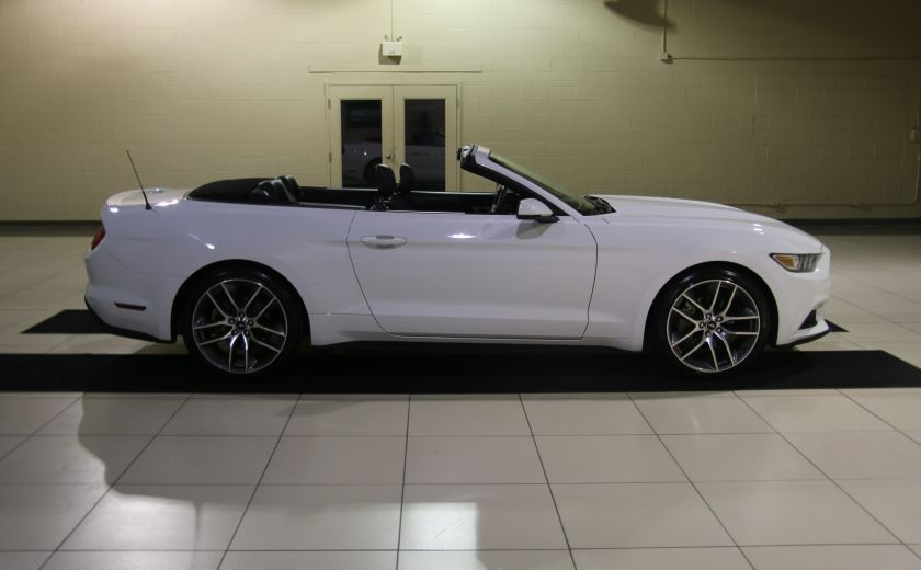 2015 Ford Mustang EcoBoost Premium AUTO A/C CUIR CONVERTIBLE MAGS #7