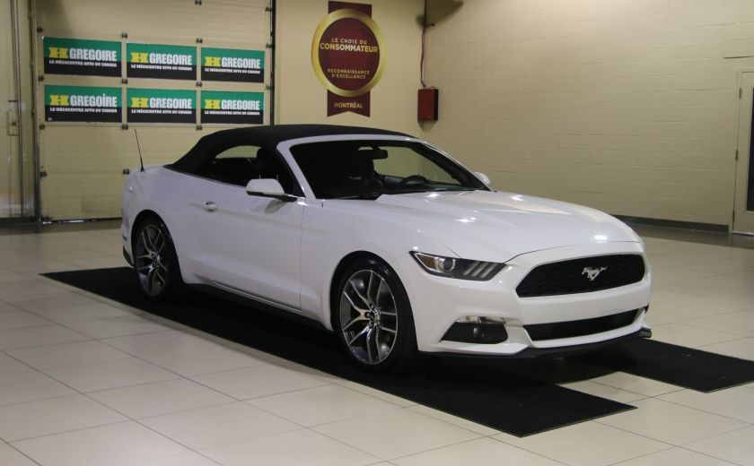 2015 Ford Mustang EcoBoost Premium AUTO A/C CUIR CONVERTIBLE MAGS #8