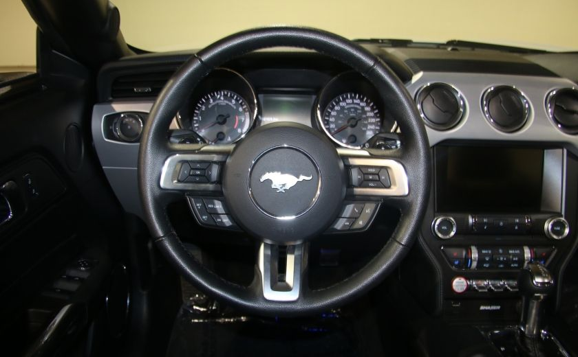2015 Ford Mustang EcoBoost Premium AUTO A/C CUIR CONVERTIBLE MAGS #19