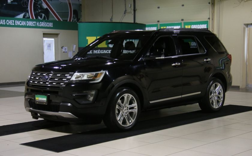 2016 Ford Explorer Limited A/C MAGS BLUETHOOT CUIR #2