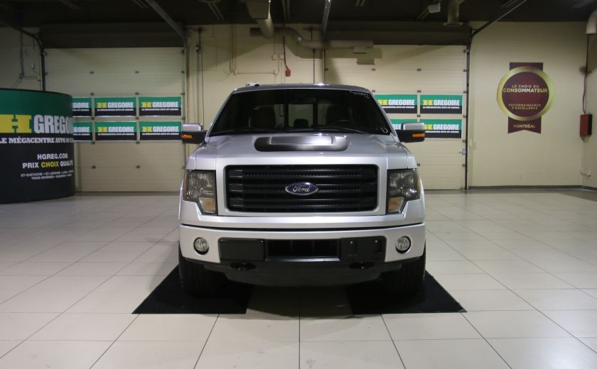 2014 Ford F150 FX4 4WD AUTO A/C CUIR MAGS BLUETOOTH #1