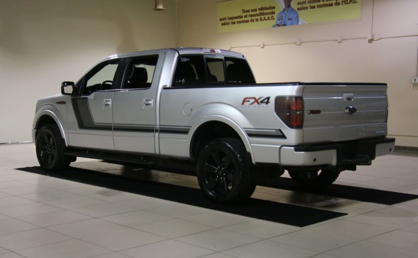2014 Ford F150 FX4 4WD AUTO A/C CUIR MAGS BLUETOOTH #4