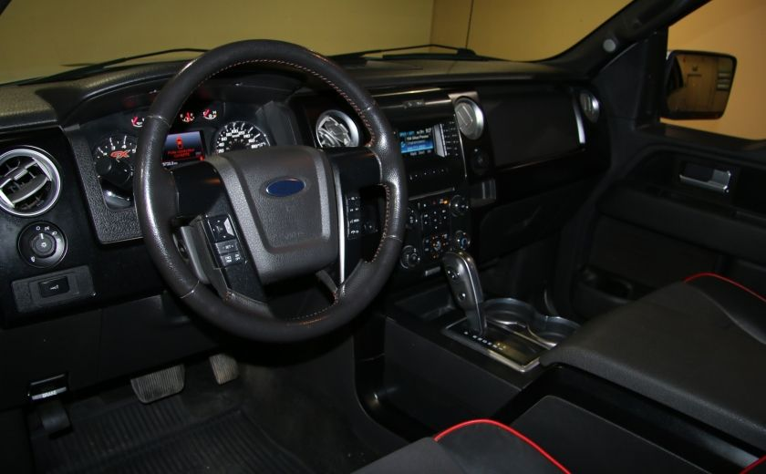 2014 Ford F150 FX4 4WD AUTO A/C CUIR MAGS BLUETOOTH #8