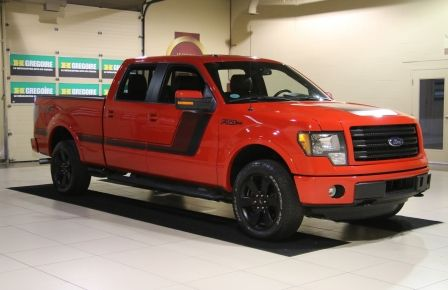 2014 Ford F150 FX4 4WD AUTO CUIR A/C MAGS BLUETOOTH à Repentigny