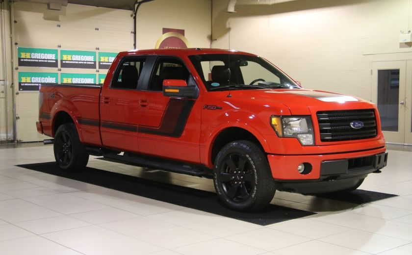 2014 Ford F150 FX4 4WD AUTO CUIR A/C MAGS BLUETOOTH #0