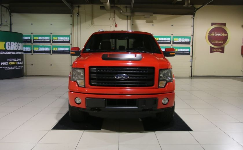 2014 Ford F150 FX4 4WD AUTO CUIR A/C MAGS BLUETOOTH #1