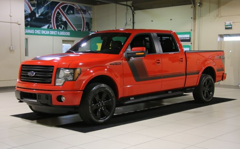2014 Ford F150 FX4 4WD AUTO CUIR A/C MAGS BLUETOOTH #2