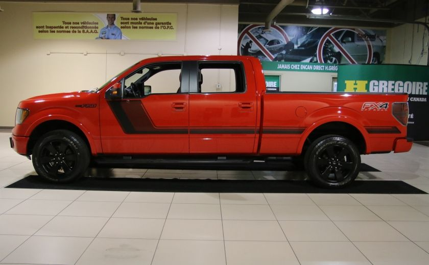 2014 Ford F150 FX4 4WD AUTO CUIR A/C MAGS BLUETOOTH #3