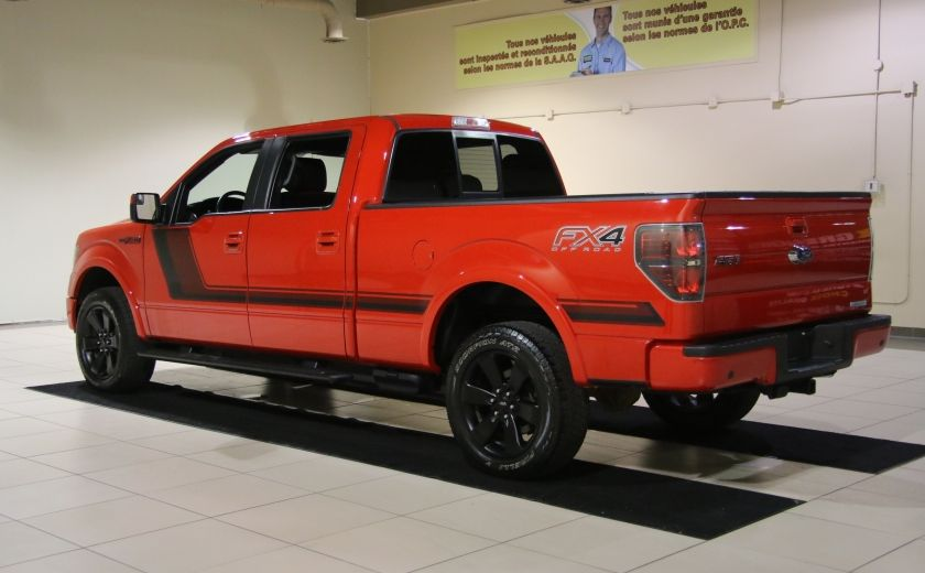 2014 Ford F150 FX4 4WD AUTO CUIR A/C MAGS BLUETOOTH #4
