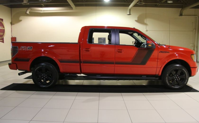 2014 Ford F150 FX4 4WD AUTO CUIR A/C MAGS BLUETOOTH #7