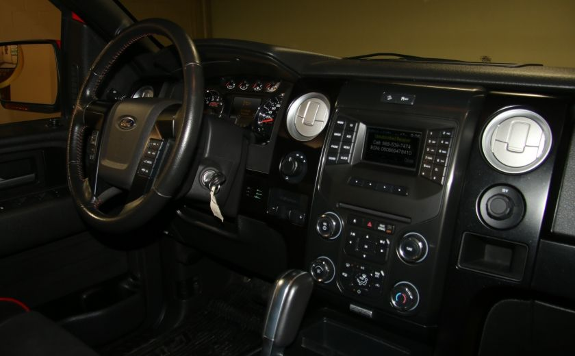 2014 Ford F150 FX4 4WD AUTO CUIR A/C MAGS BLUETOOTH #26
