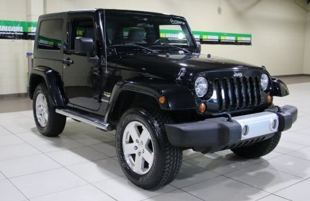 2009 Jeep Wrangler Sahara 4WD A/C GR ELECT MAGS à Victoriaville
