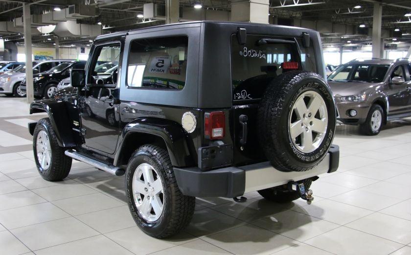 2009 Jeep Wrangler Sahara 4WD A/C GR ELECT MAGS #4