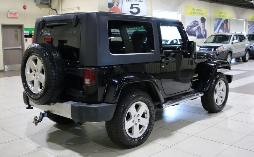 2009 Jeep Wrangler Sahara 4WD A/C GR ELECT MAGS #6