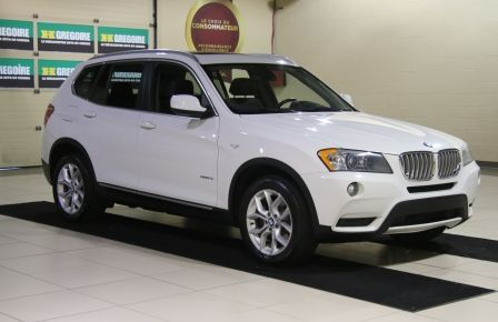 2013 BMW X3 28i AWD CUIR TOIT PANO in Laval