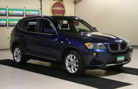 2013 BMW X3 28I AWD CUIR TOIT PANO NAV in Sherbrooke
