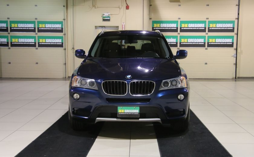 2013 BMW X3 28I AWD CUIR TOIT PANO NAV #1